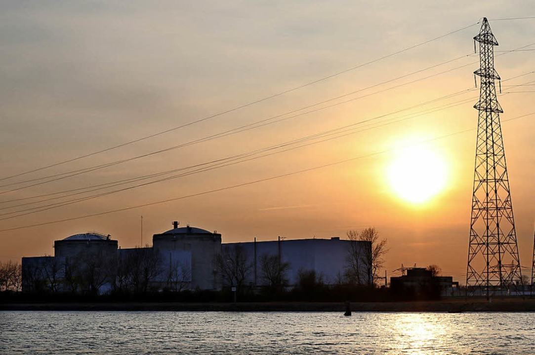 Die Tage des umstrittenen AKW am Rhein scheinen gezählt.    Foto:  dpa