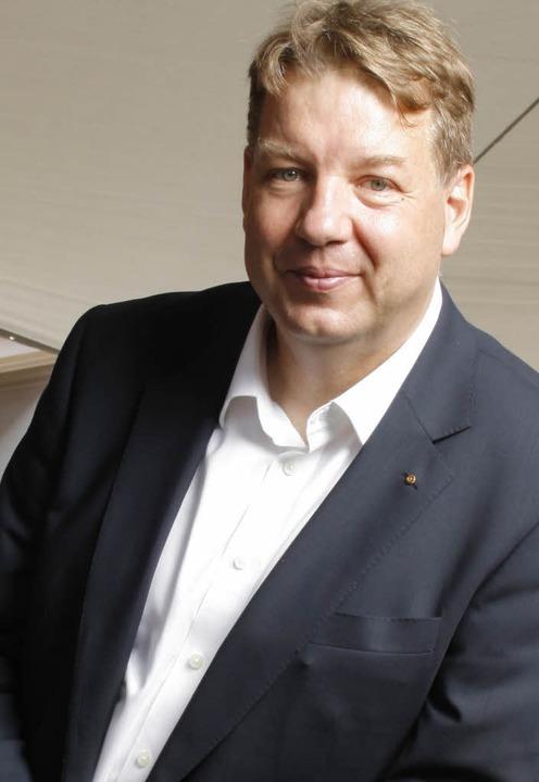 Will als spätberufener Quereinsteiger ...eue CDU-Kreisvorsitzende Jürgen Rausch    Foto:  Privat