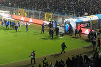 Kein Licht im Stadion: Fußballspiel FC Basel gegen FC Zürich fällt aus