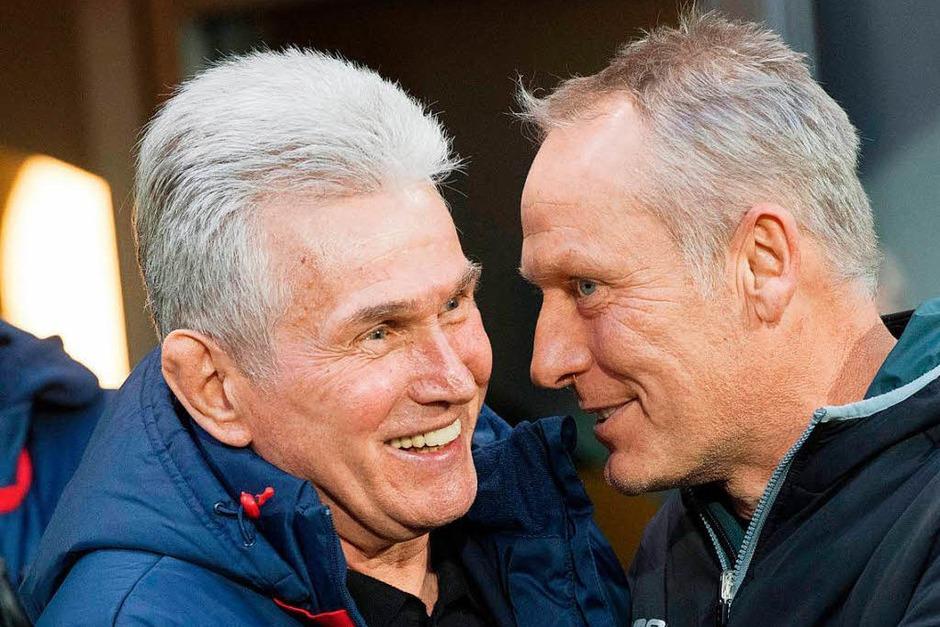 Der FC Bayern München gab sich im Breisgau keine Blöße und siegte verdient mit 4:0. (Foto: AFP)