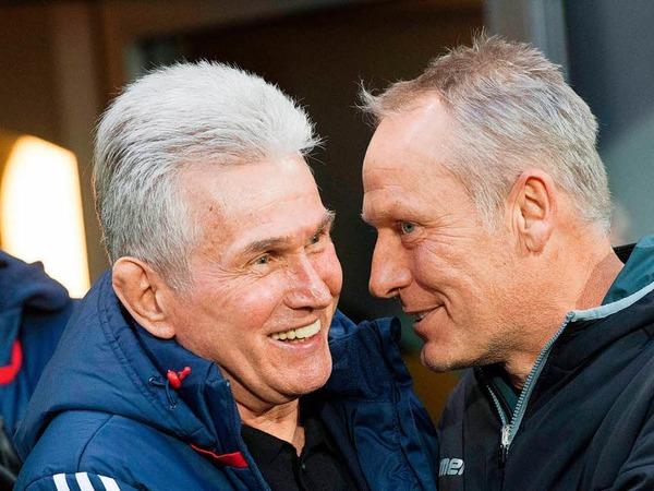 Der FC Bayern München gab sich im Breisgau keine Blöße und siegte verdient mit 4:0.