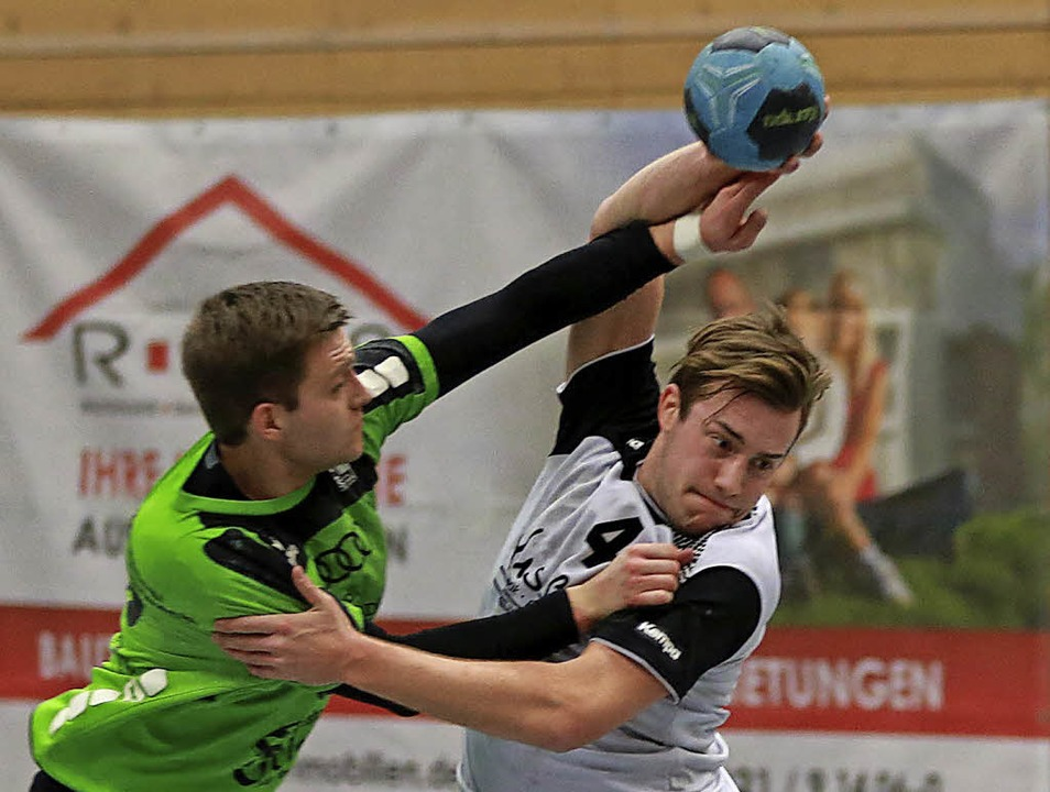 <BZ-FotoAnlauf>Handball:</BZ-FotoAnlau... HSG Dreiland gegen Hornberg zehn Mal.  | Foto: N. Schöchlin