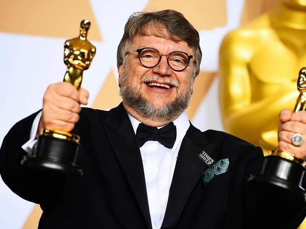 """Bester Film: """"Shape of Water - Das Flüstern des Wassers"""" von Regisseur Guillermo del Toro."""
