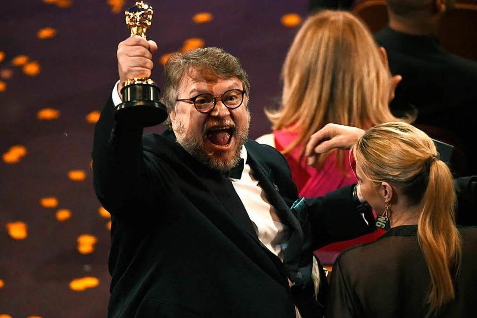 """Regie: Guillermo del Toro für """"Shape of Water - Das Flüstern des Wassers"""" (Foto: dpa)"""