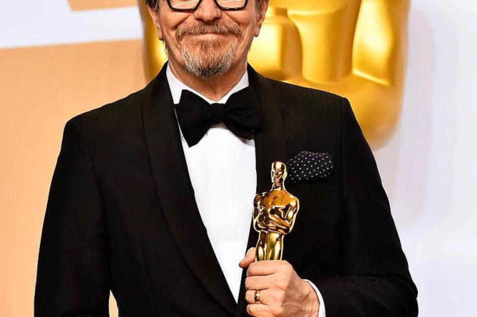 """Hauptdarsteller: Gary Oldman für """"Die dunkelste Stunde"""" (Foto: AFP)"""