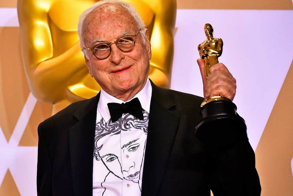 "Adaptiertes Drehbuch: James Ivory für ""Call Me by Your Name"" (Foto: AFP)"