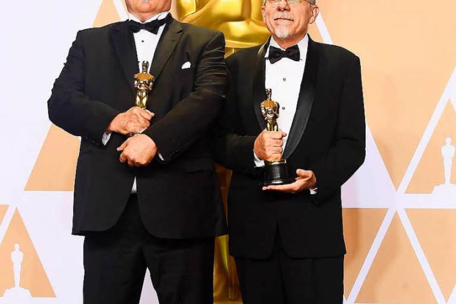 """Tonschnitt: Richard King und Alex Gibson für """"Dunkirk"""" (Foto: AFP)"""
