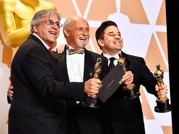 "Tonmischung: Gregg Landaker, Gary A. Rizzo und Mark Weingarten für ""Dunkirk"""