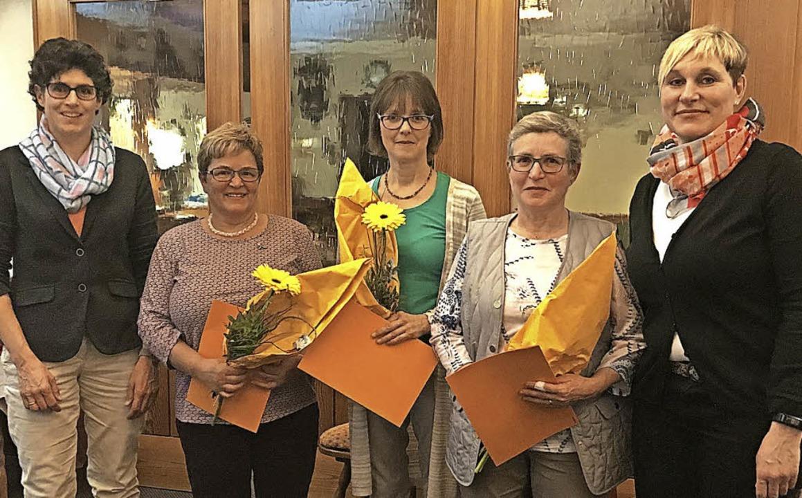 Ehrungen gab es für langjährige Mitgli...nd zweite Vorsitzende Daniela Becker.   | Foto: zvg