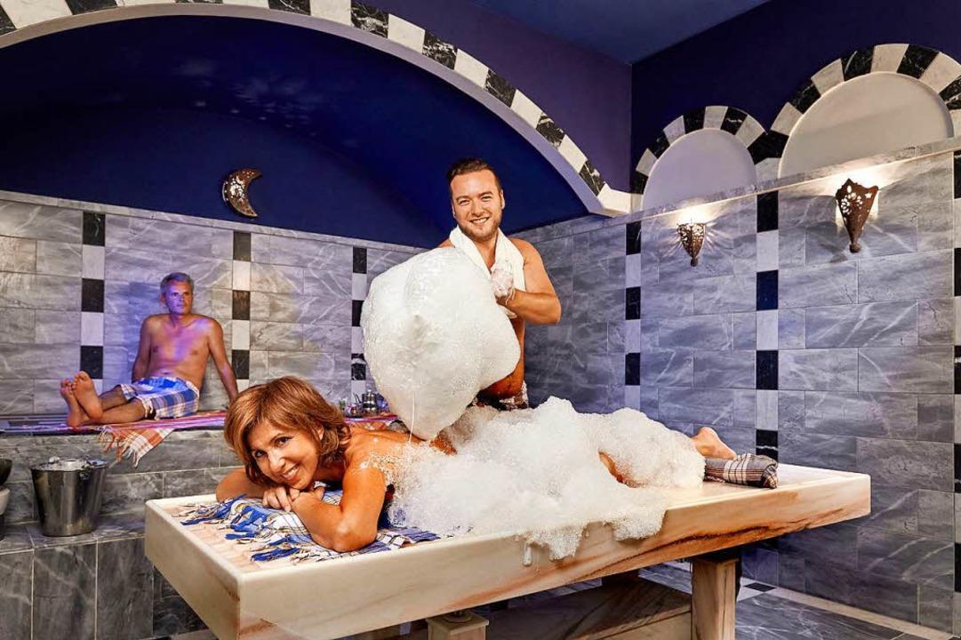 Orientalisches Waschungsritual im Türkischen Bad  | Foto: PR