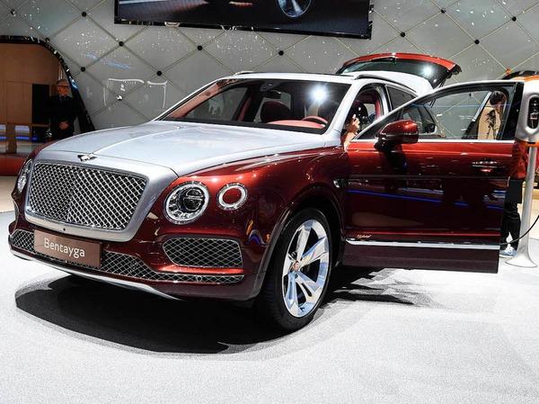 Ein Bentley Bentayga Hybrid