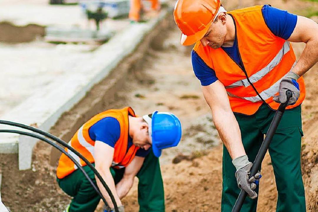 Viel Arbeit für Freiburgs Bauarbeiter (Symbolbild).  | Foto: Photographee.eu