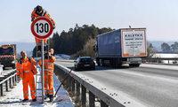 Auf der A81 bei Geisingen gilt nun umstrittenes Tempolimit