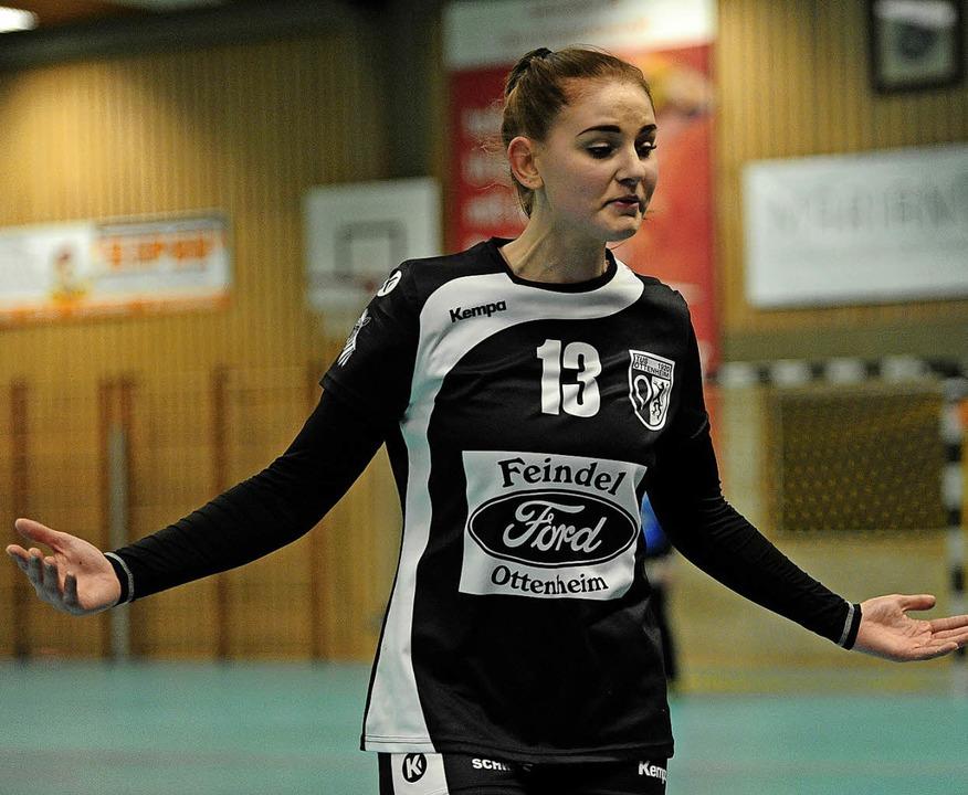 <BZ-FotoAnlauf>TuS Ottenheim:</BZ-Foto...ihnen auf dem Handballfeld geschieht.     Foto: Pressebüro Schaller