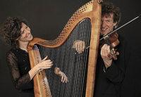 Folk mit Johanna Seitz (Barockharfe) und Christoph Mayer (Barockvioline) in Müllheim