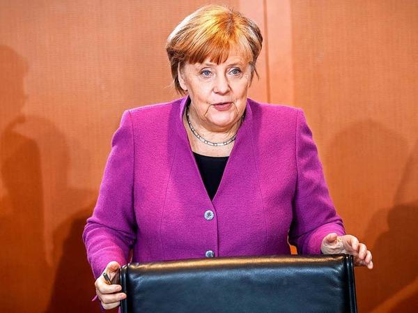 Angela Merkel soll Bundeskanzlerin bleiben.