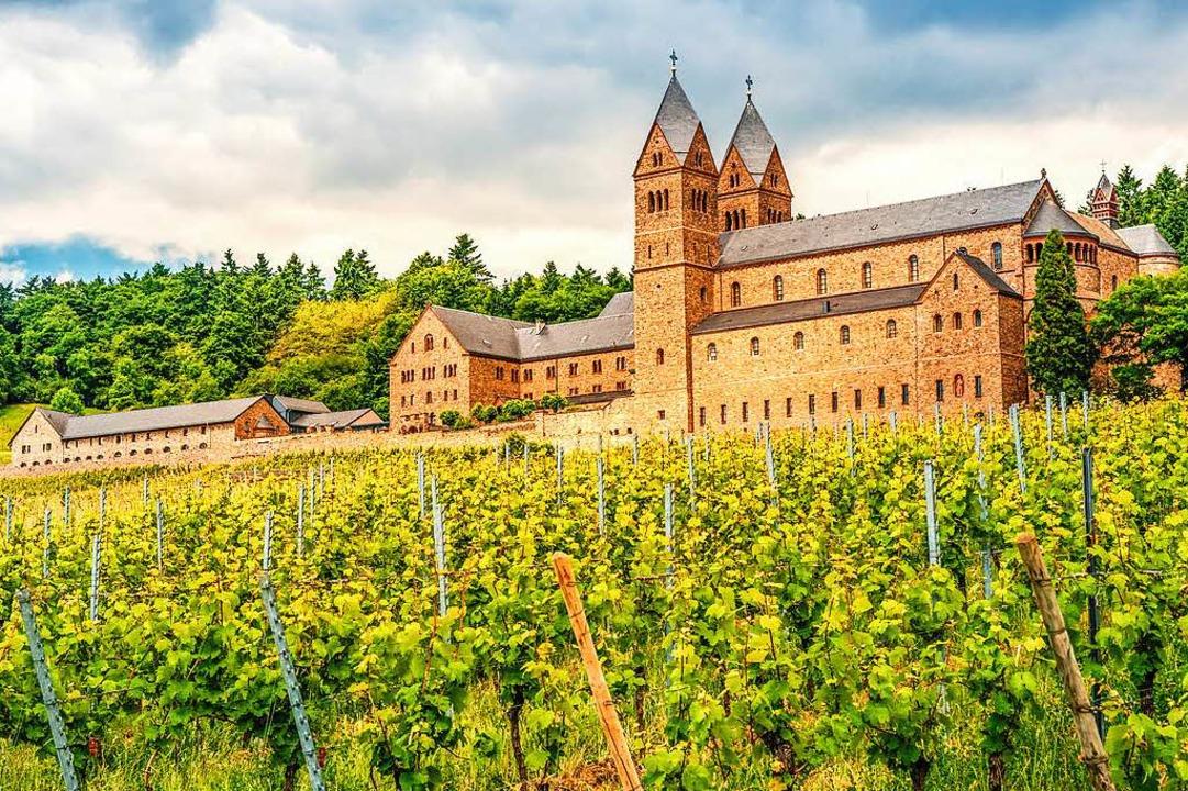 Malerischer Ruhepol im Rheingau: die B...nnenabtei St. Hildegard über Rüdesheim  | Foto: ©pure-life-pictures – Fotolia
