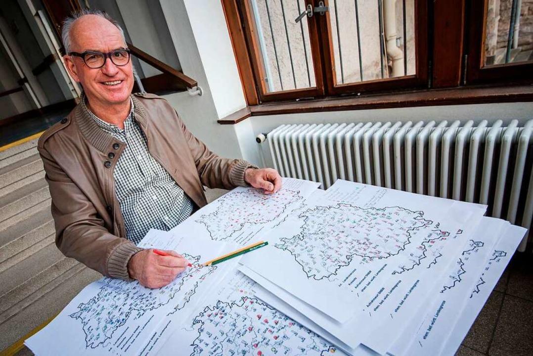Sprachwissenschaftler Hubert Klausmann  | Foto: Christoph Schmidt