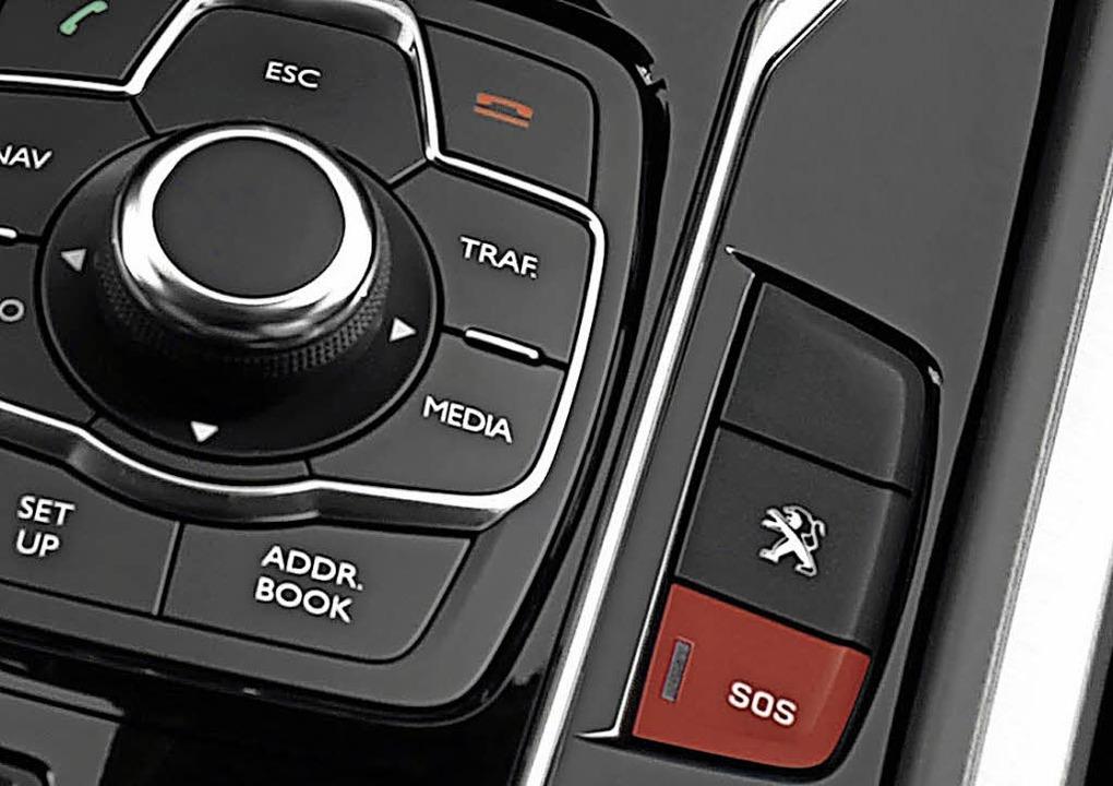 E-Call wird zur Pflichtausstattung von Neuwagen  | Foto: Peugeot/SP-X