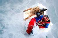 Skifahrerin überlebt 40 Minuten unter Lawine
