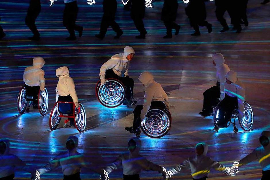 Eröffnungsfeier der Paralympics in Pyeongchang (Foto: dpa)