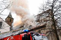 Millionenschaden nach Brand in Ravensburger Kirche