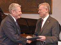 Joachim Gauck in Freiburg mit internationalem Hayek-Preis geehrt