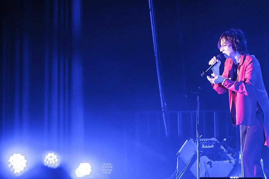 """""""Fenomenale"""" hat die aus dem italienischen Siena stammende Rocksängerin Gianna Nannini ihre Tour genannt, nach einem Titel aus ihrem 2017 erschienenen neuen Album """"Amore Gigante"""". (Foto: Janos Ruf)"""