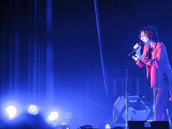"""""""Fenomenale"""" hat die aus dem italienischen Siena stammende Rocksängerin Gianna Nannini ihre Tour genannt, nach einem Titel aus ihrem 2017 erschienenen neuen Album """"Amore Gigante""""."""