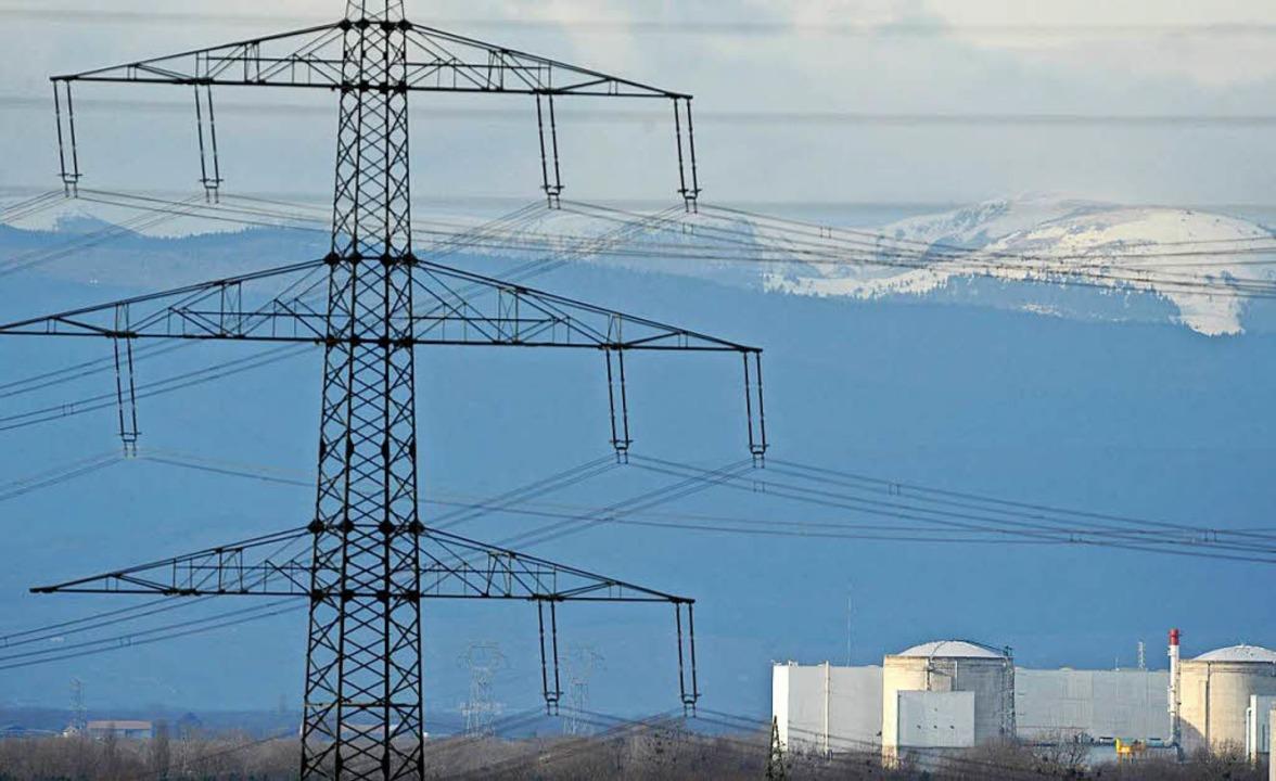 Die französische Atomaufsicht ASN hat ...eaktor 2 des Akw Fessenheim genehmigt.  | Foto: dpa