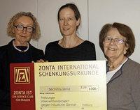 Spende der Zonta-Frauen