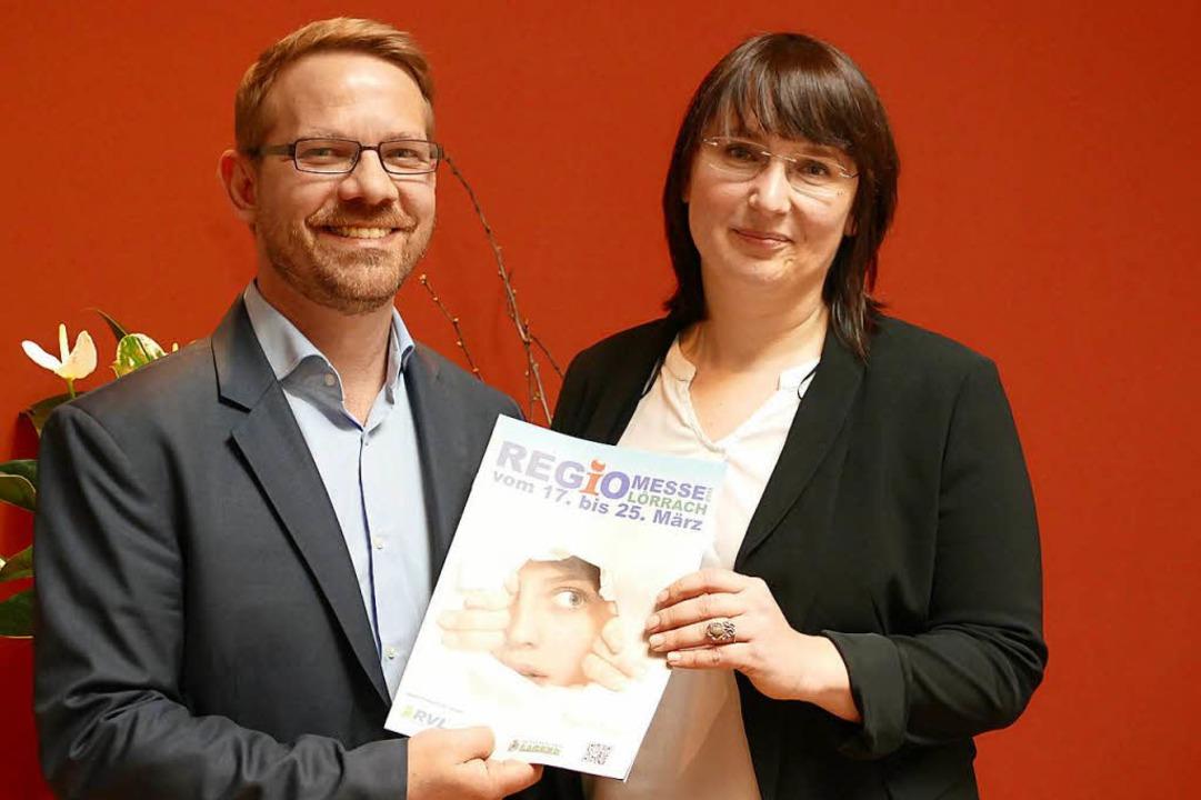 Die Geschäftsführer Thomas Platzer und Natalia Golovina  | Foto: Kathrin Ganter