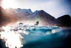 Surfen in Norwegen: bei Minus 13 Grad durch den Schneesturm