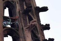 Lebensgefährliche Aktion auf dem Freiburger Münsterturm