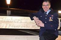 40 Jahre bei der Feuerwehr und nun Ehrenkommandant