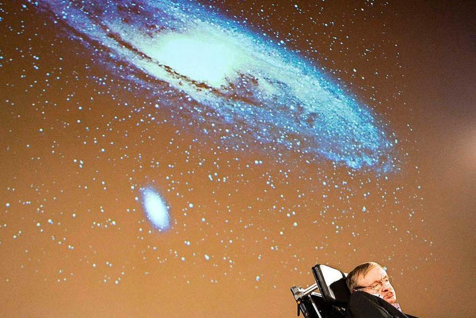 Der populärste Astrophysiker unserer Zeit: Stephen Hawking. (Foto: dpa)