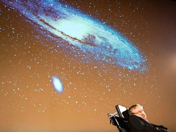 Der populärste Astrophysiker unserer Zeit: Stephen Hawking.