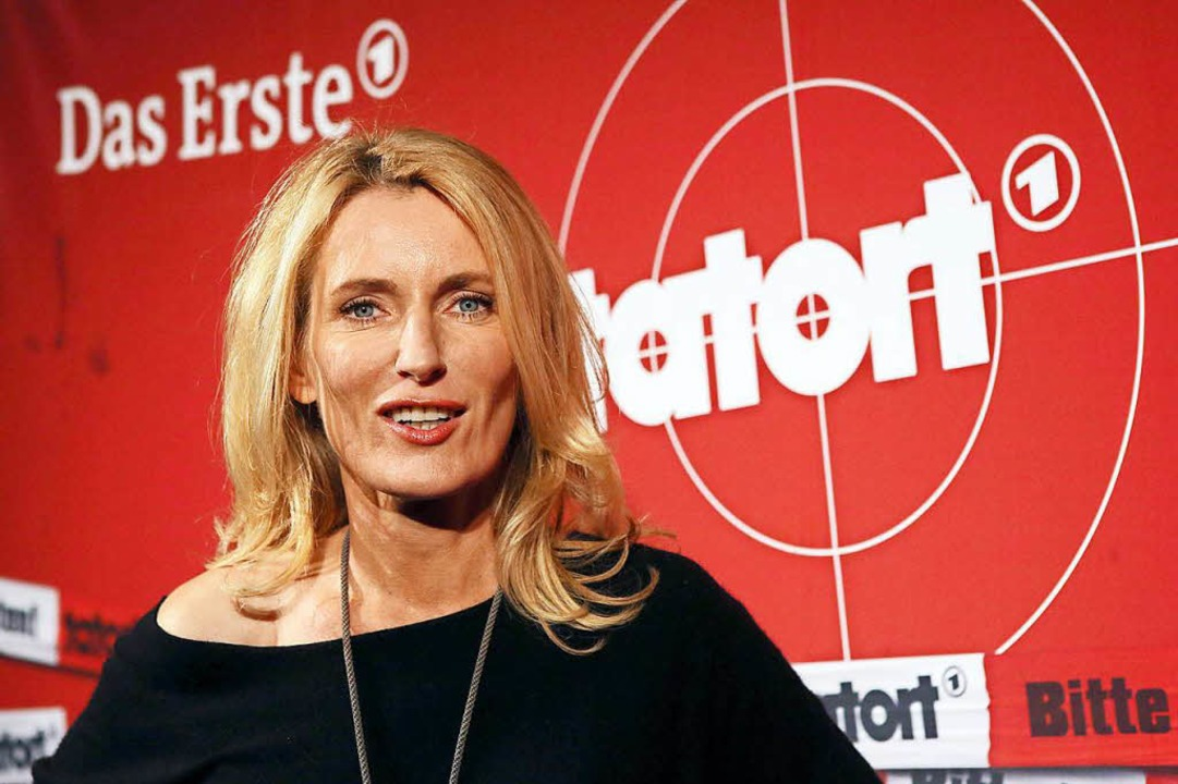 Maria Furtwängler spielt die Tatort-Kommissarin Charlotte Lindholm.  | Foto: dpa