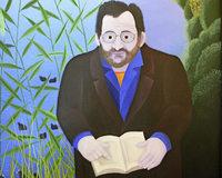 """""""Manfred Bosch. Literarischer Sekretär der Region"""" Kunst in Müllheim"""