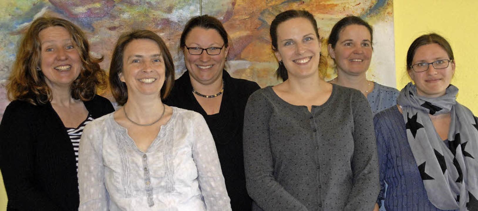 Familienzentrum (von links): Birgitt K...Wyhlen), Anna Faus (Minikindergarten)   | Foto: Stabla/ZvG