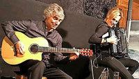 Gitarre und Akkordeon am 17. März in Emmendingen