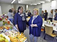 Die Frühstückstafel an den Vigelius-Schulen soll ein Modell für andere Schulen werden
