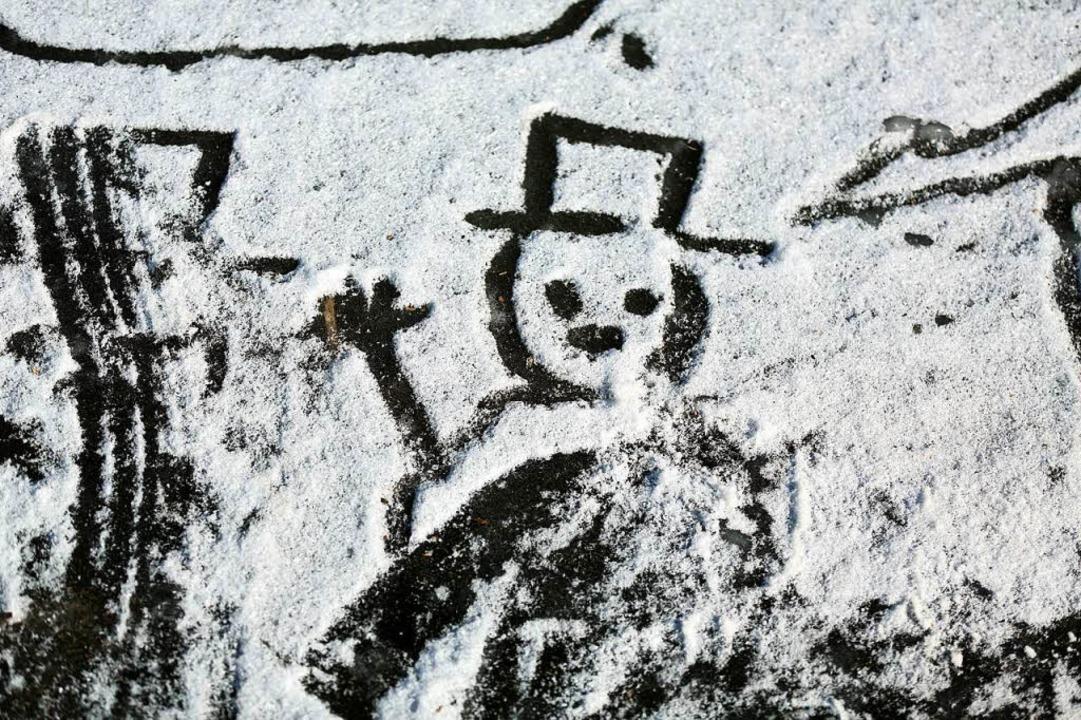 Hallo, Schnee!  | Foto: dpa