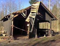 Hütte soll bald repariert werden
