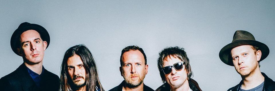 Die britische Rock-Band The Temperance Movement tritt im Z7 auf