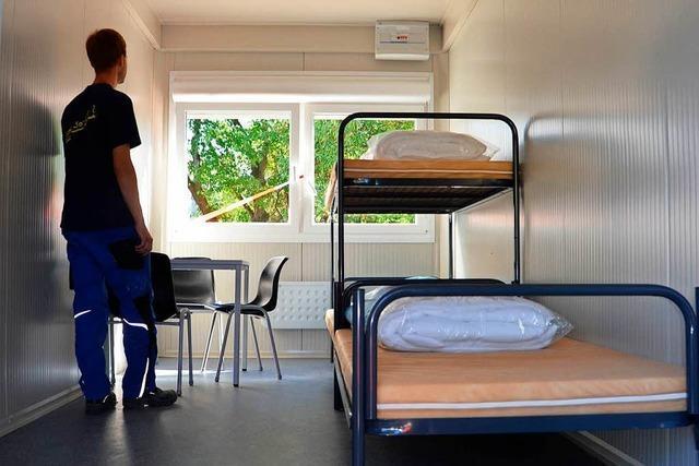 Flüchtlingsrat ist unzufrieden mit Unterkünften im Kreis Breisgau-Hochschwarzwald