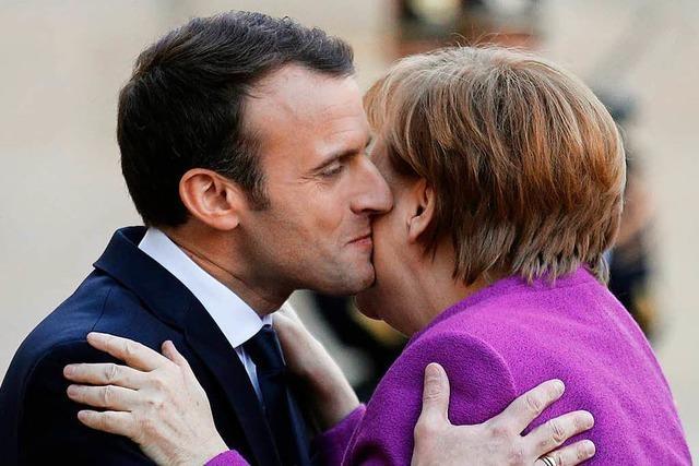 Merkel besucht Macron: An der Seine wächst die Ungeduld