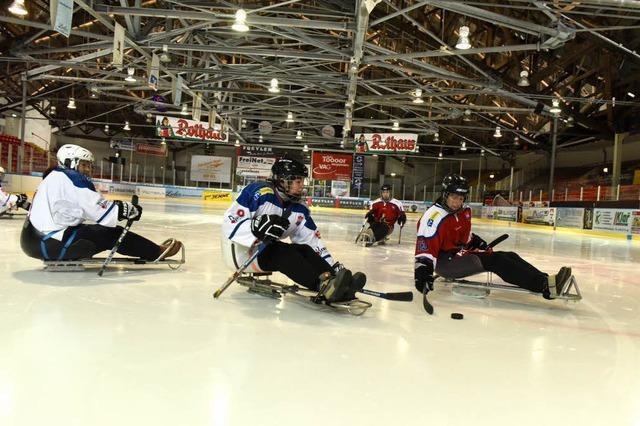 Para-Eishockey beim EHC
