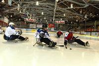 Beim EHC Freiburg gibt's nun auch Para-Eishockey