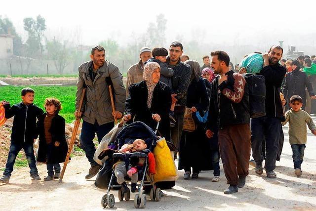 Der Exodus aus Ost-Ghuta geht weiter